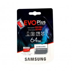 SAMSUNG 64GB MICROSDXC EVO...