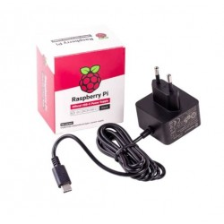 Official EU Raspberry Pi 4 Power Supply (5.1V 3A)