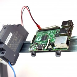 Raspberry Pi DIN Mount Clips