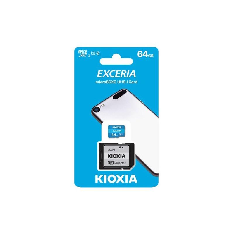 Exceria Kioxia microSDHC-I Card 64 GB
