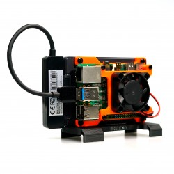 The TerraPi SE - SSD Case for Raspberry Pi including Fan and Heatsinks