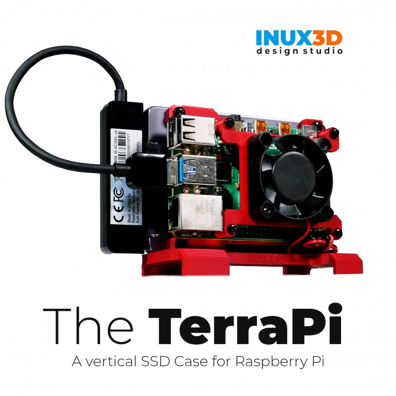 TerraPi Raspberry Pi SSD Case