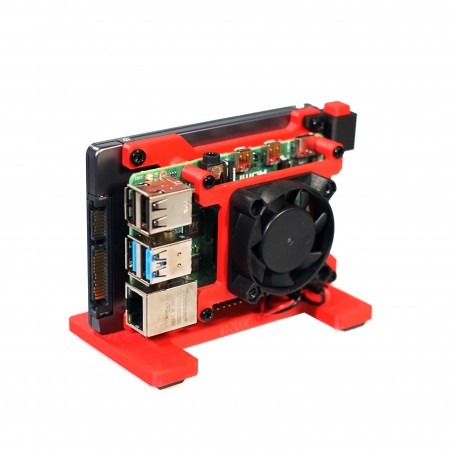 The TerraPi NG (including a power Button)