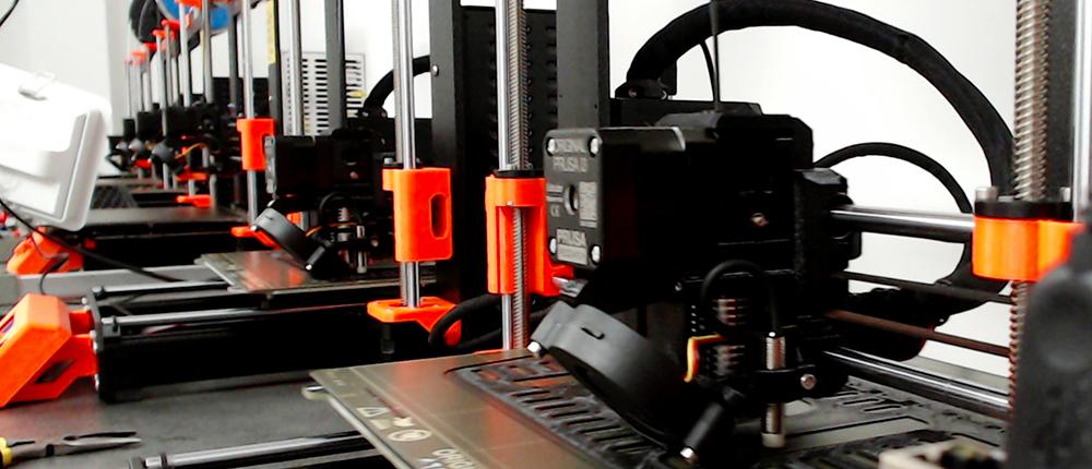 Prusa Mk3S Printers at INUX3D Facilities